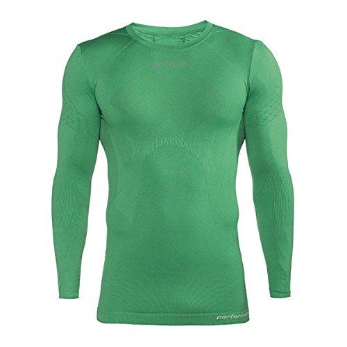 Errea 3dwear Davor LS camiseta térmica verde XS