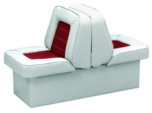 (Wise 8WD505P-1-661 Deluxe Bucket Style Lounge Seat (Grey/Red))