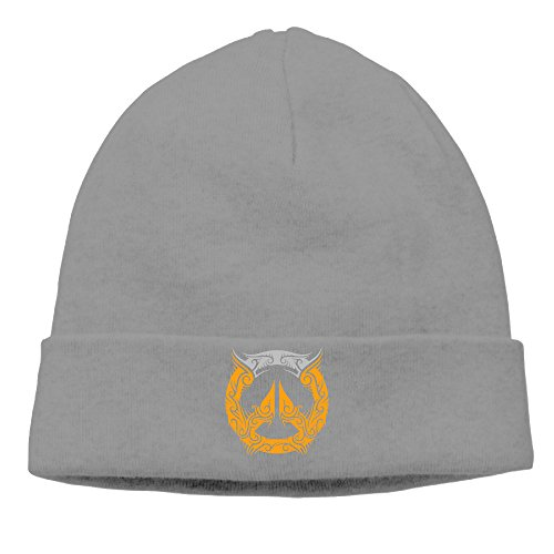 Over Watch Logo Gameser Fashionable Patch Beanie Hiking For Men And Women DeepHeather Autumn And Winter Hats