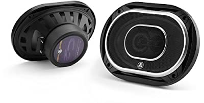Jl Audio C2-690tx 6x9-Inch 3 Way Speakers with Silk Dome Tweeters