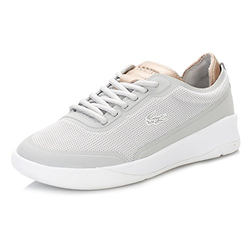 Lacoste Womens Light Grey Lt Spirit Elite 117 2 Trainer Spw