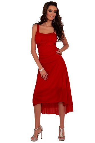 YouLookHot -  Vestito  - Donna rosso 42