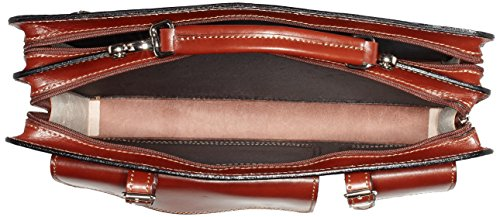 Bags4Less Unisex-Erwachsene Mondial Laptop Tasche, 10x30x40 cm Braun (Braun)