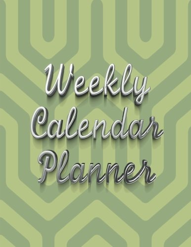 Read Online Weekly Calendar Planner - 70 Weeks - (10/2/2017 - 2/3/2019): Green and Light Green Graphic Pattern ebook