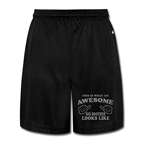 Texhood MEN'S This Is What An Awesome Big Brother Short Trainning Pants Size - Is Size What My Frame