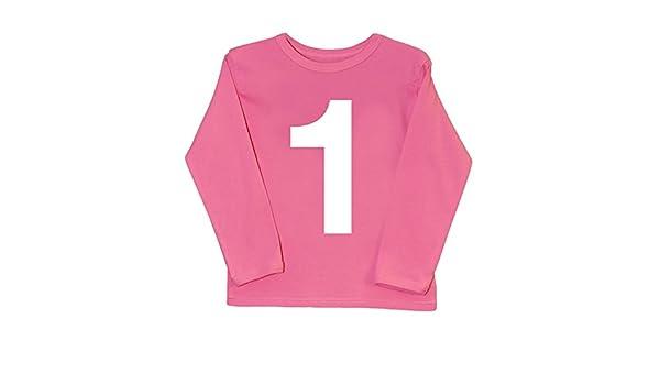 I Am 1 rosa primer cumpleaños T Shirt | Cool bebé camisetas ...