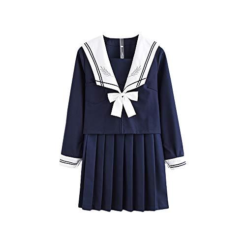Femme Himifashion Blanc Jupe Marine Bleu wqgqxWvr75