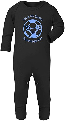 Hat-Trick Designs Leicester City Football Baby Childrens T-Shirt Top-Royal Blue-Future Star-Unisex Gift