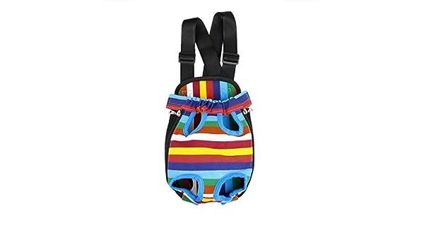 Amazon.com : DealMux Pernas Pet convenientes portáteis Out portador do gato Frente Backpack cão pequeno saco de viagem ao ar livre colorido : Pet Supplies