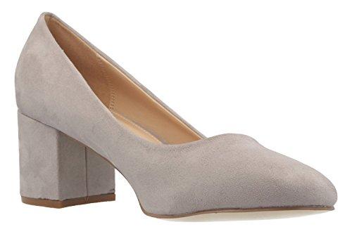 Footwear grigio 44 grandi EU in scarpe SESY grigio taglie Donna Scarpe FITTERS scollate wgP6qdXg1