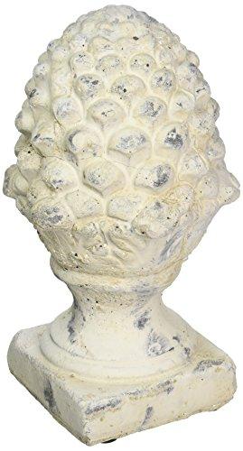 Terra Cotta Finial (Abbott Collection Terracotta Acorn on Pedestal, Small)