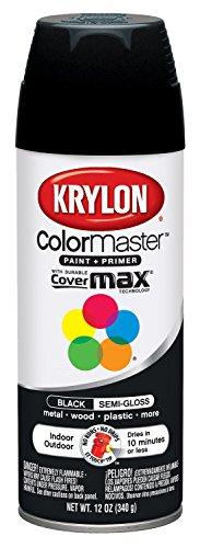 i-Gloss Black Interior and Exterior Decorator Paint - 12 oz. Aerosol ()