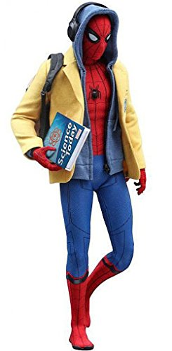 Hot Toys Movie Masterpiece 1/6 Scale Action Figure Spider-Man (Deluxe Version) SpiderMan: Homecoming Tom Holland