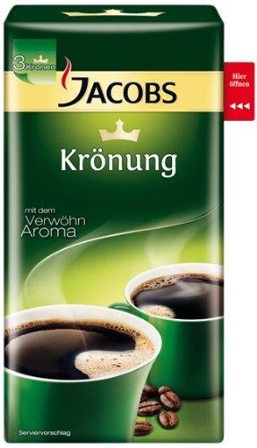 Jacobs Krönung Original Röstkaffee Gemahlen - 1 x 500 g