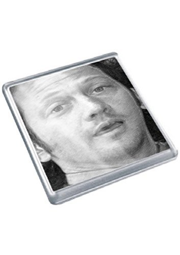 ROB SCHNEIDER - Original Art Coaster #js001