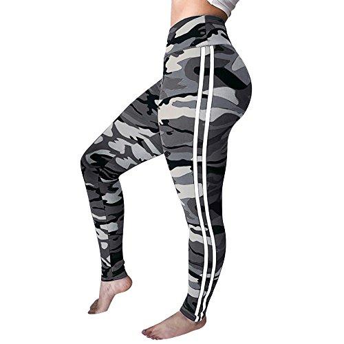 - Xavigio_Women Leggings Womens Hight Waist Camouflage Butt Lift Leggings Workout Running Yoga Pants Trousers