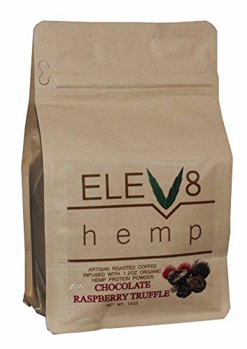 Artisan Roasted Hemp Coffee 12oz Ground (Chocolate Raspberry Truffle) (Hemp Coffee)