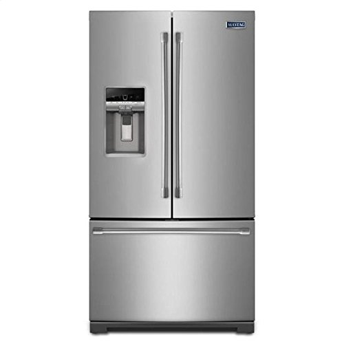 Maytag MFT2776DEM 27.0 Cu. Ft. Stainless Steel French Door Refrigerator
