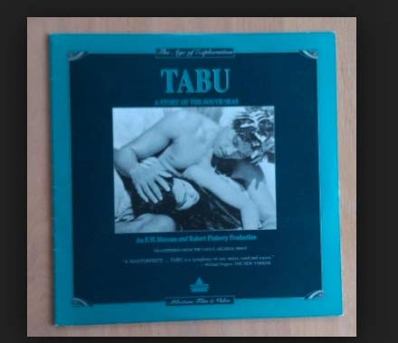 Tabu- A Story Of The South Seas. Laser Disc Movie 12