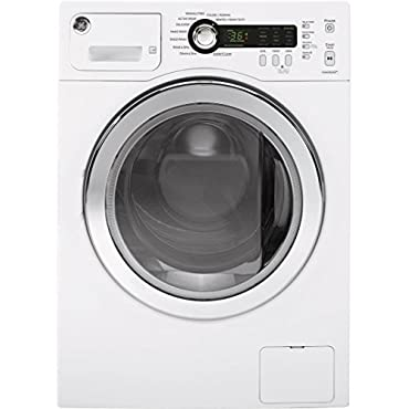 GE 2.2 cu. ft. Stackable White Front Loading Washing Machine, ENERGY STAR (WCVH4800KWW)