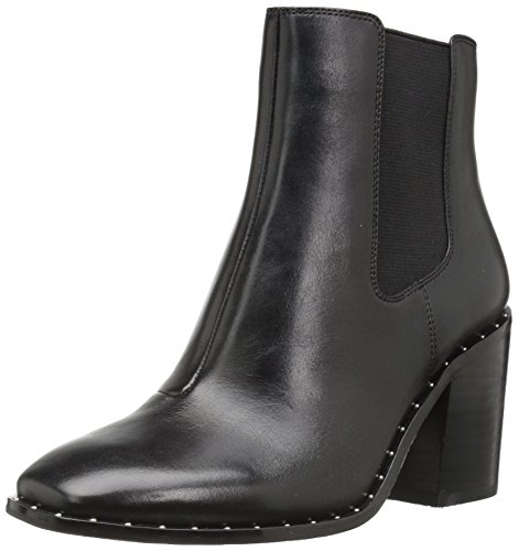 Ankle Black Women's Toe Fix Dixon Square Stud Boot The Leather HRYqg4wTFq