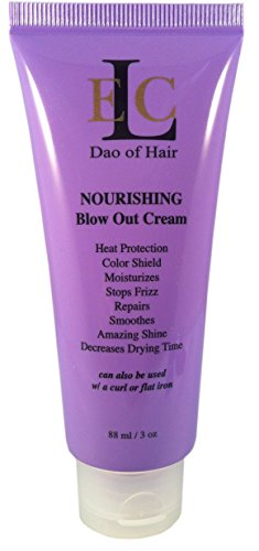 Smooth Shine Cream - ELC RD Nourishing Blow Out Cream; Smooths, Blocks Humidity & Frizz. Heat & Color Protection. Moisturizes, Strengthens. Prevent Split Ends, Brilliant Shine. Reduces Drying time. Med to Coarse Hair.