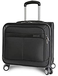 8-Wheel Spinner Mobile Office, Black