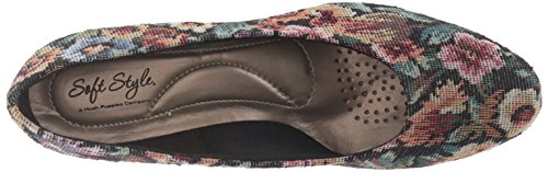 Soft Style by Hush Puppies Angel II Fibra sintética Tacones Brocade
