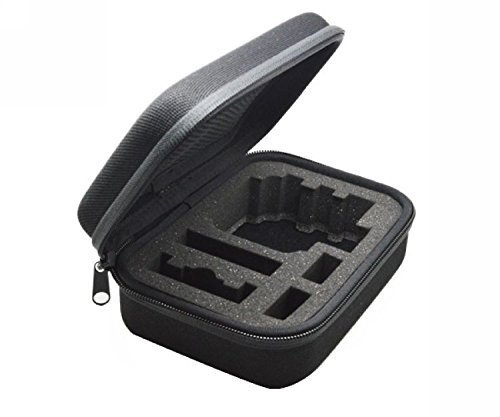 D&F Portable Carrying Case Travel Storage Bag Protective Shockproof Box for GoPro HERO 6/5/4/3+/3 SJCAM YI Sport Camera Accessories--Small