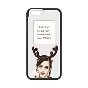 the Case Shop- Customized Emma Watson Quotes Actress TPU Rubber Case Cover Skin for iPhone 6 4.7 Inch , i6xq-706