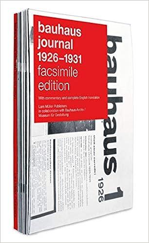Bauhaus Journal 1926-1931 por Lars Muller epub