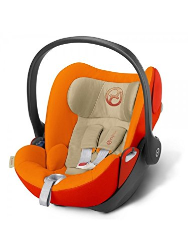 Cybex - Silla de Auto Cloud Q Autumn Gold - Grupo 0 +: ...