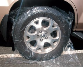 Amazon Com Plastic Wheel Cover Fits Suv Tires Protection From