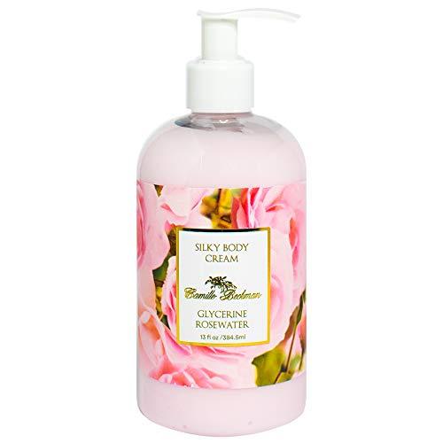 (Camille Beckman Silky Body Cream, Glycerine Rosewater, 13)