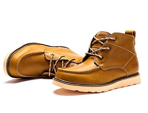 Insun Herren Chukka Boots Camel