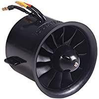 New FMS 70mm 12 Blades Ducted Fan EDF With 2845 KV2750 Motor For RC Airplane By KTOY