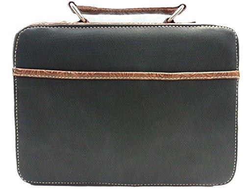 Blancho Borsa Cuoio Di Elegante Handbad Letto Biancheria Dell'unità modello Da Donne Elaborazione Sacchetto Nero Classico qwYt8pSS