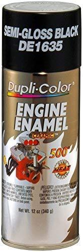 Dupli-Color DE1635 Ford Semi-Gloss Back Engine Enamel with Ceramic 12 oz. Aerosol (6 PACK)