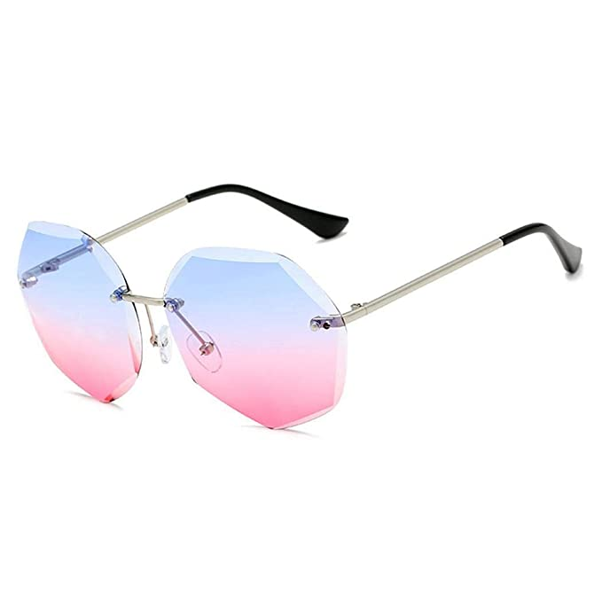 rioplwe Gafas de sol estilo retro con protección contra ...