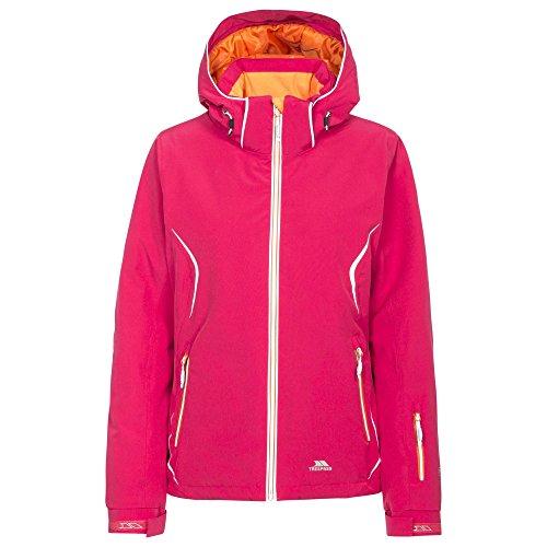 Trespass Womens/Ladies Tyrona Waterproof Ski Jacket (XXL) (Raspberry)