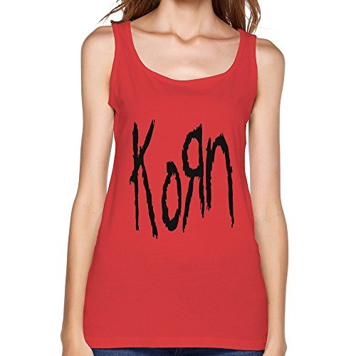 Red Korn Vintage Tank Top For Womens Size L
