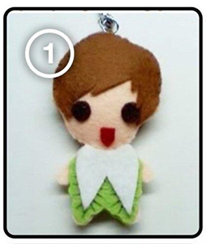 - SJ Super Junior Leeteuk - Cabbage Veggie SS3 KPOP Handmade Doll Keychain