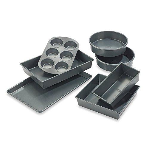 Chicago Metallic Professional 7-piece Non-Stick Bakeware (Chicago Metallic Professional Loaf Pan)