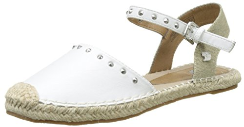 TOM TAILOR Damen 2795607 Espadrilles Weiß (white)