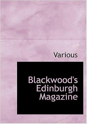 Book Blackwood's Edinburgh Magazine (Large Print Edition)