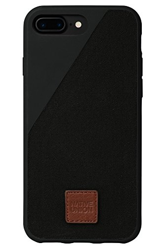 7 Union Series - Native Union CLIC 360 Series Flexible Case for iPhone 8 Plus 7 Plus - Black (Certified Refurbished)