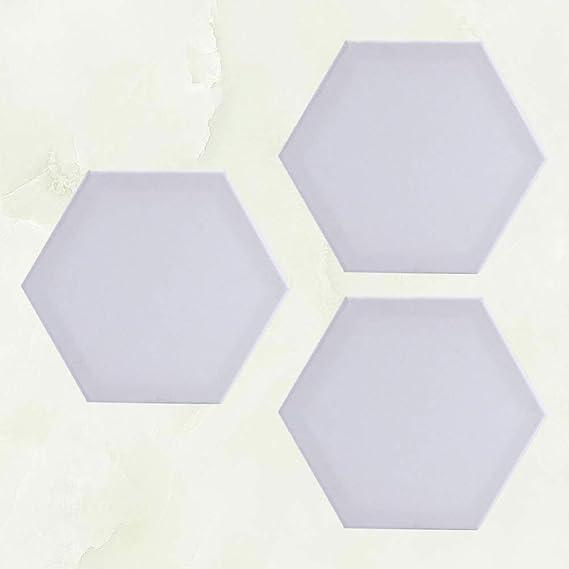 Toiles /à Peindre Tableaux de Peinture sur Toile Hexagonaux Vierges pour Peinture /à lhuile et Acrylique Artisanat Dessin nbeads 2 Panneau de Toile