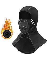 CbRSPORTS Balaclava Winter Ski Mask Winter Full Face Mask Fleece Windproof for Men Women Motorcycle Cycling Skiing Thermal Black