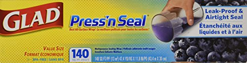 Glad Pressn Seal, 140 SQ. Foot, (Pack of 3)