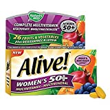 Nature's Way – Alive! Womens 50+ Multivitamin & Multimineral, 50 tablets For Sale